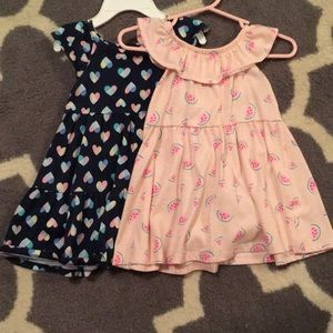 2 jumping beans dresses! 12m